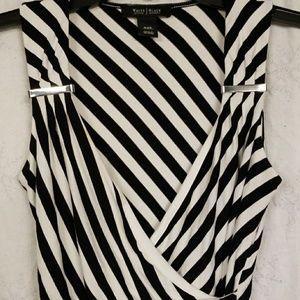 White House Black Market striped top